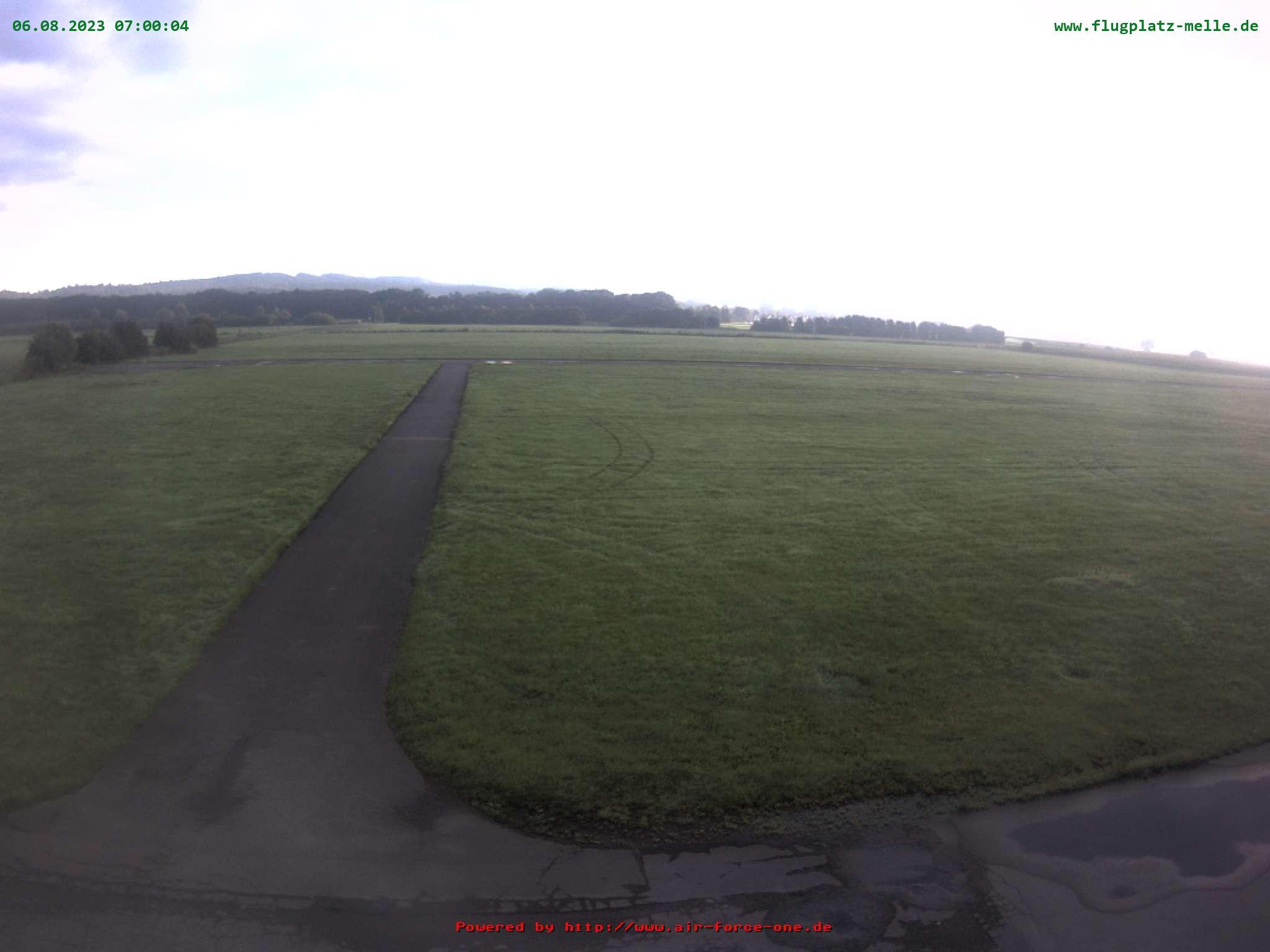 Ballonstarts Flugplatz Melle Grönegau